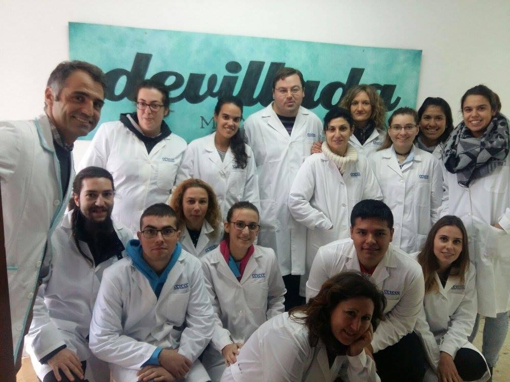 Alumnos del CETECE en La Morcillería