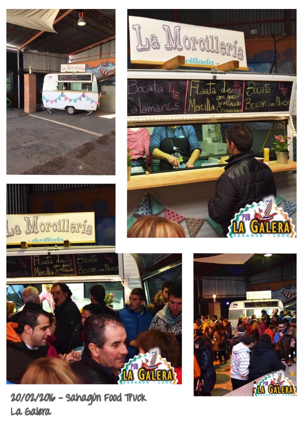 Sahagún Food Truck La Galera
