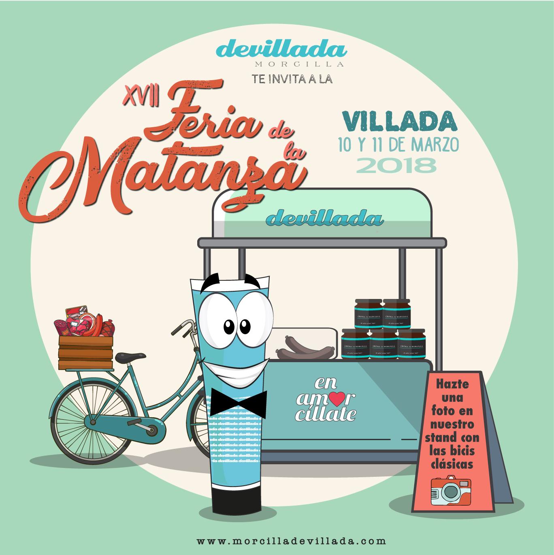 Te invitamos a disfrutar con nosotros de la XVII Feria de la Matanza en Villada